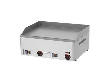FTH 60 E - Grilovací deska 65x48 el. hladká, stolní 400 V