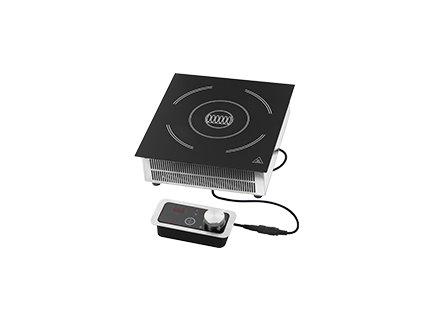 RIB 3520 EB - Indukční vařič drop-in el. 9 výkonostních stupňů manuální ovl. panel 230 V