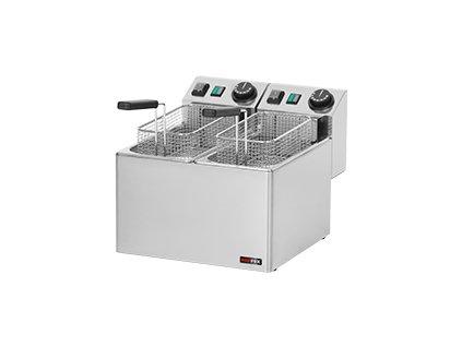 FE 44 E - Fritéza el. dvojitá 0,42 kW/l, 5+5 l stolní 230 V