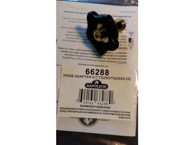 Adaptér pro připojení grilu Travel TQ285 a k plynové láhvi