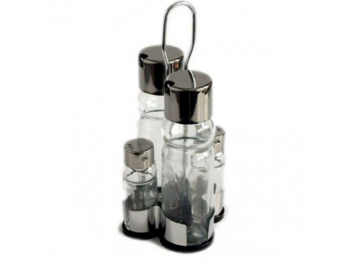 Menážka - sůl, pepř, olej, ocet