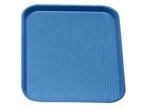 Podnos jídelní - modrý 360 x 460 mm