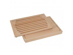 Deska na pečivo dřevěná 400x300 mm