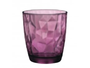 Sklenice Diamond 305 ml fialová