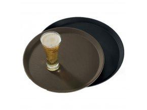 Podnos protiskluzový Treadlite černý 35,5 cm