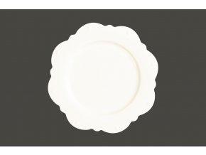 Scallop talíř - Princess White gold