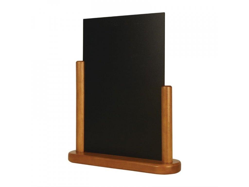 46687 securit tabule s polovicnim ramem 320 x 270mm teakova