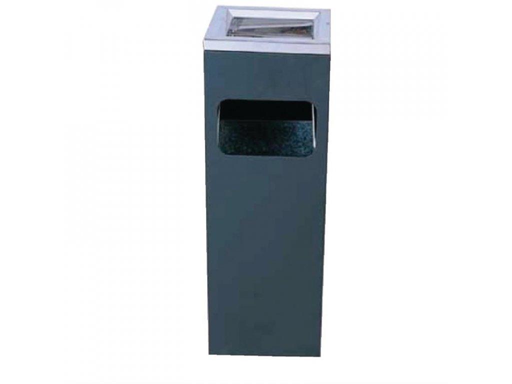 46711 bolero ctverhranny odpadkovy kos na cigarety