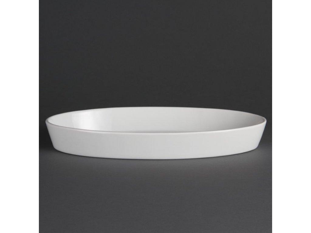 47089 olympia ovalne zapekaci misy whiteware 330x 180mm