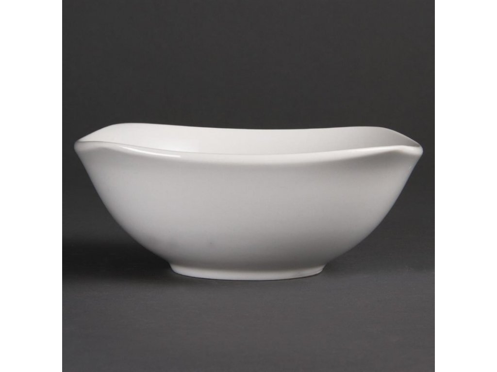 47893 olympia zaoblene ctvercove misky whiteware 180mm