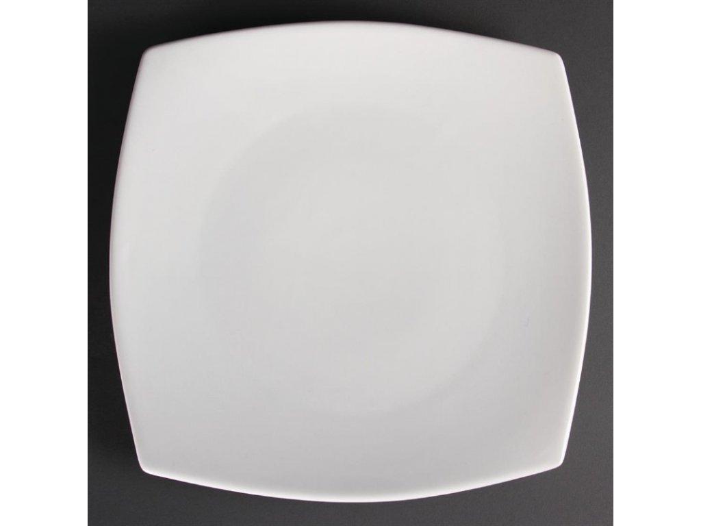 47899 olympia zaoblene ctvercove talire whiteware 305mm