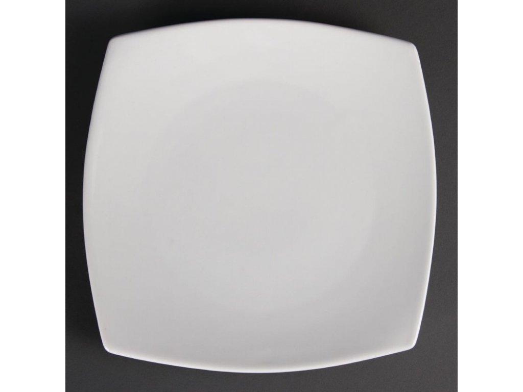47902 olympia zaoblene ctvercove talire whiteware 240mm