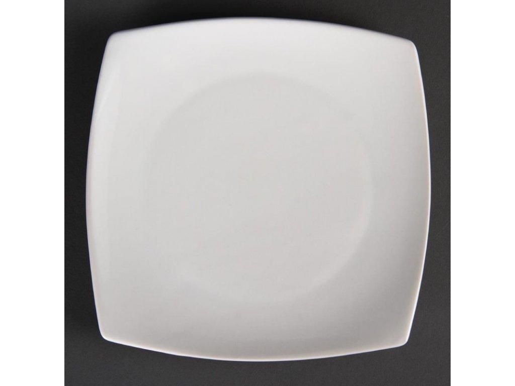 47905 olympia zaoblene ctvercove talire whiteware 185mm