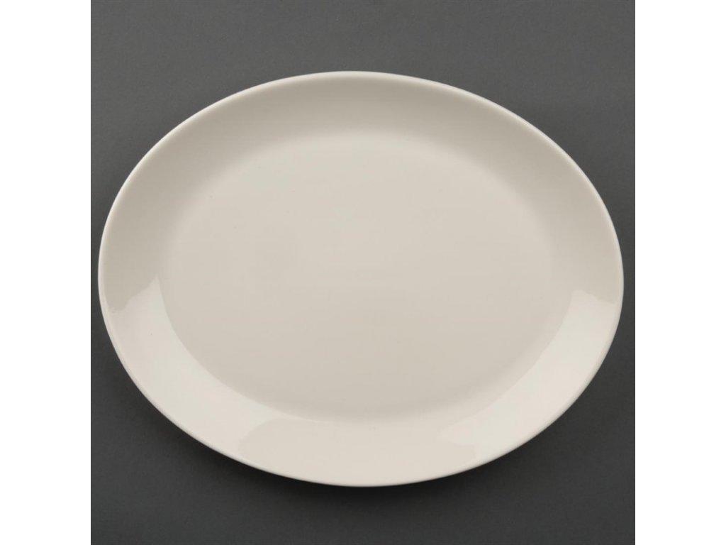 47956 olympia dezertni talire ivory ovalne 290mm