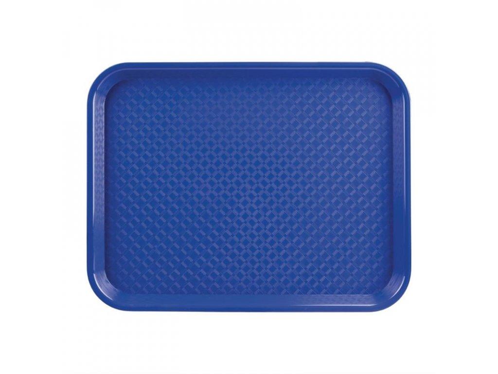 48898 kristallon stredni tac pro rychle obcerstveni plastovy modry