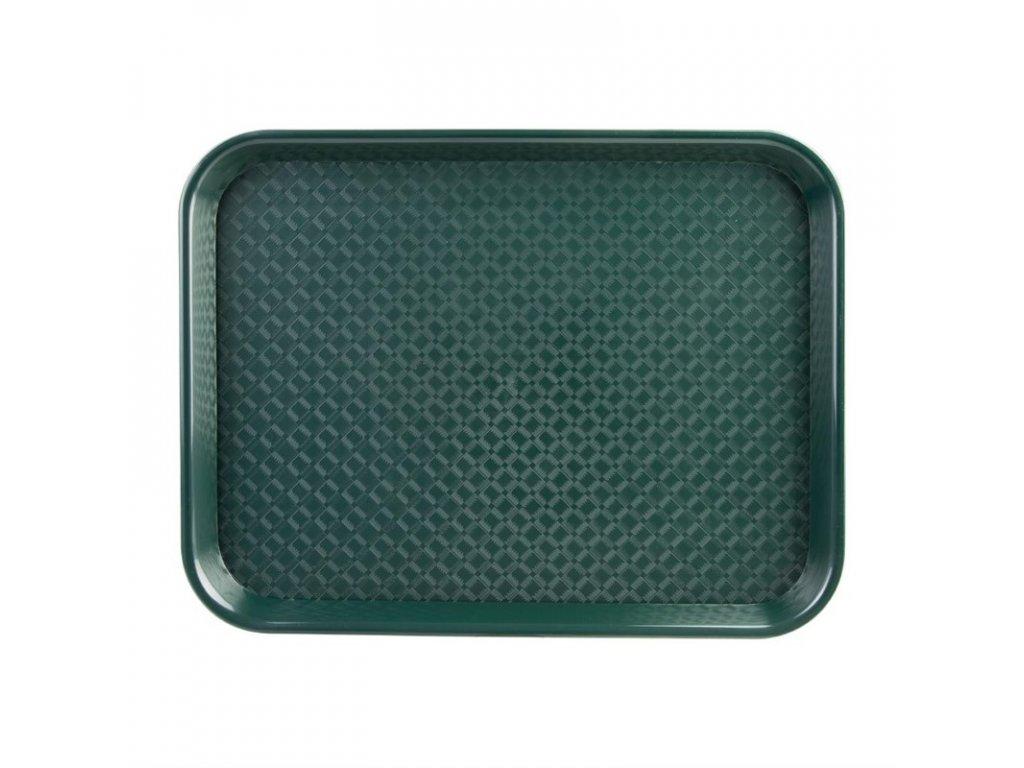 48901 kristallon stredni tac pro rychle obcerstveni plastovy zeleny