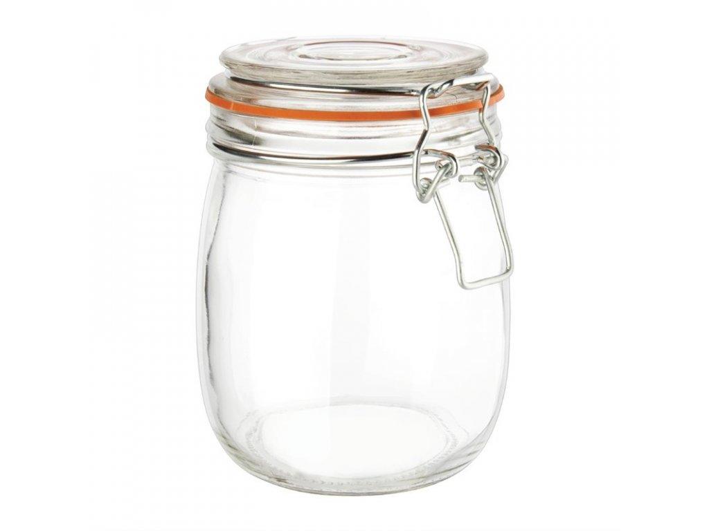 48928 vogue zavarovaci sklenice s klip vikem 750ml