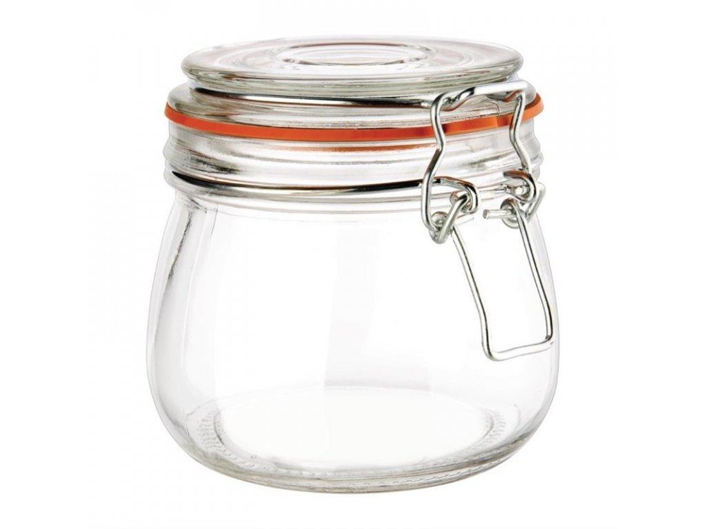 48931 vogue zavarovaci sklenice s klip vikem 500ml