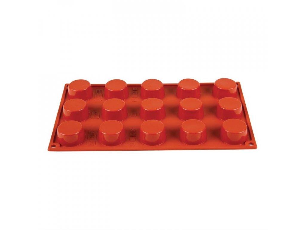 49078 15 silikonovych forem na minizakusky formaflex