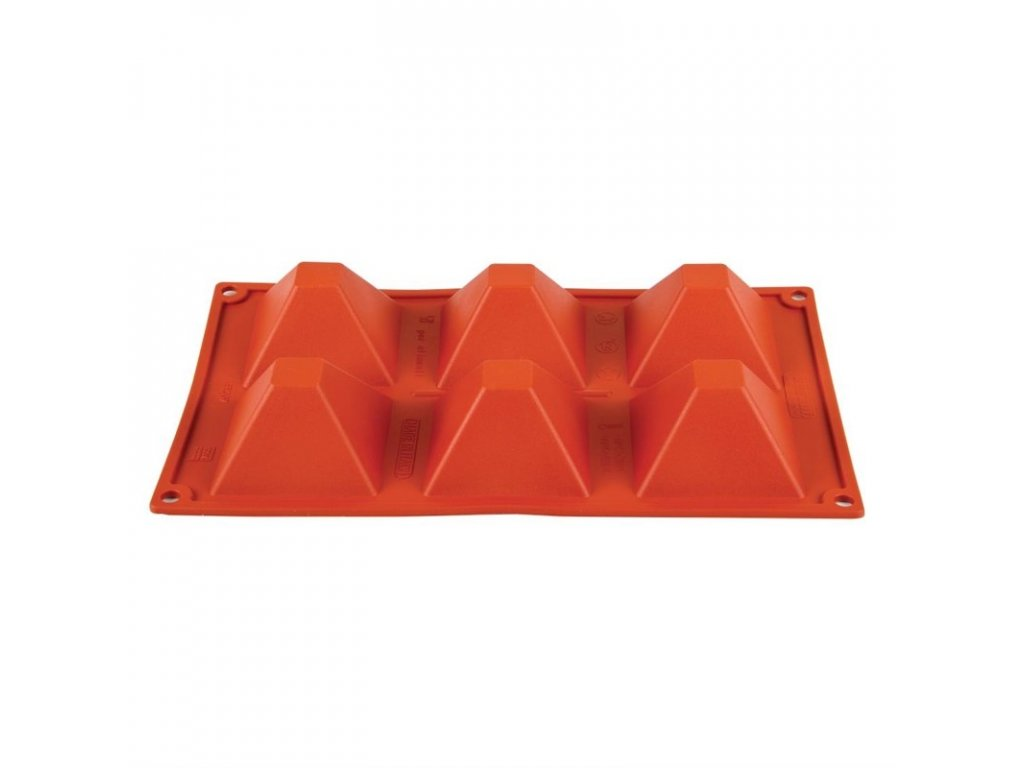 49081 6 silikonovych pyramidovych forem formaflex