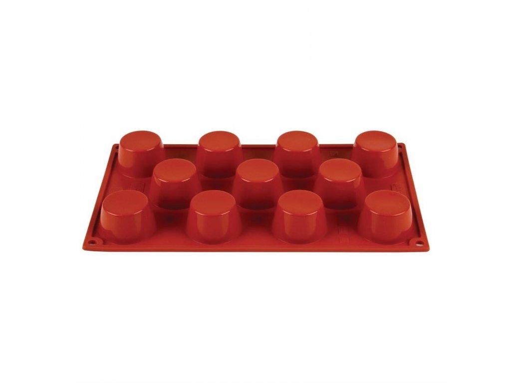49102 11 silikonovych forem na mini muffiny formaflex