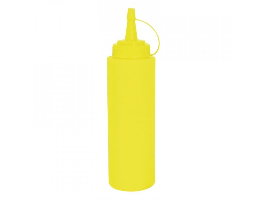 50728 vogue mackaci lahev na omacku zluta 681ml