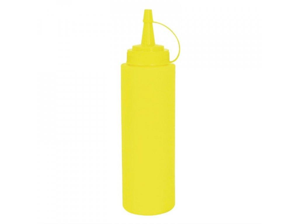 50740 vogue mackaci lahev na omacku zluta 340ml