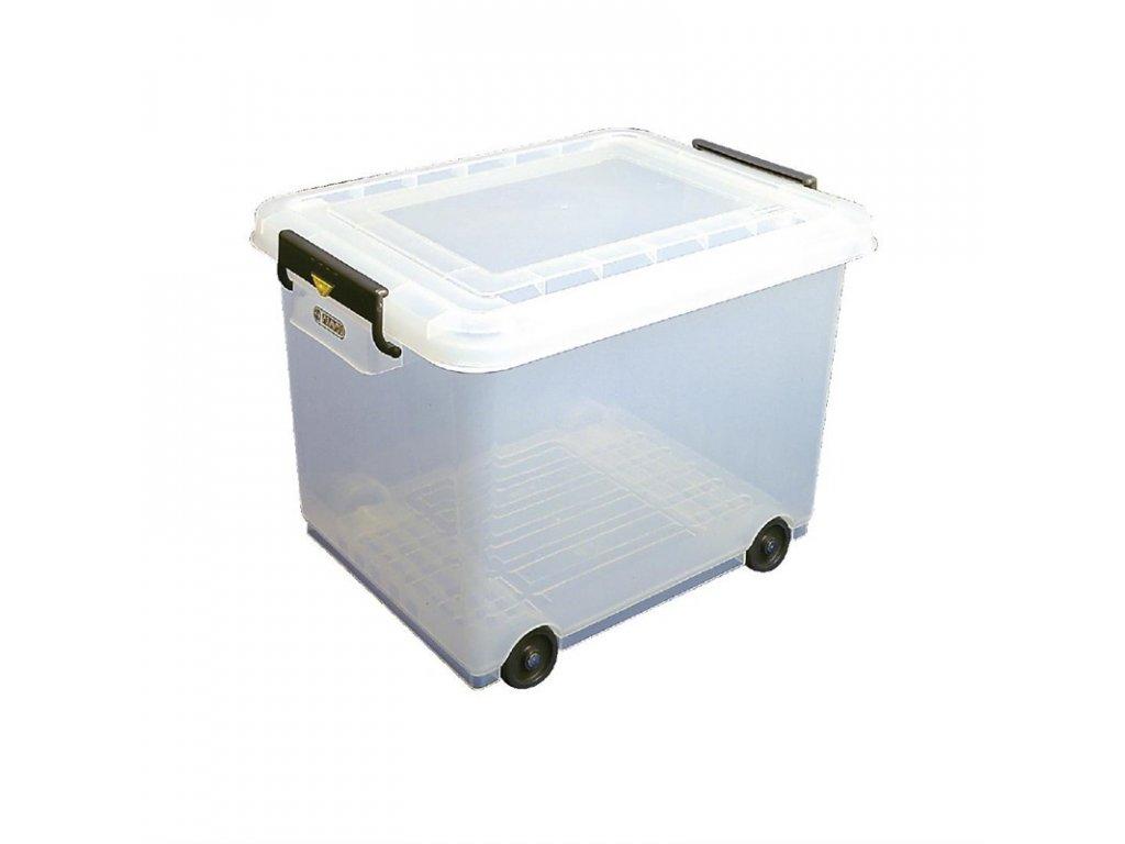 51244 mobilni skladovaci box na potraviny s vikem