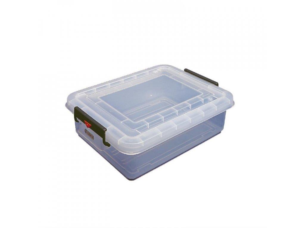 51247 araven skladovaci box na potraviny s vikem a barevnymi klipy