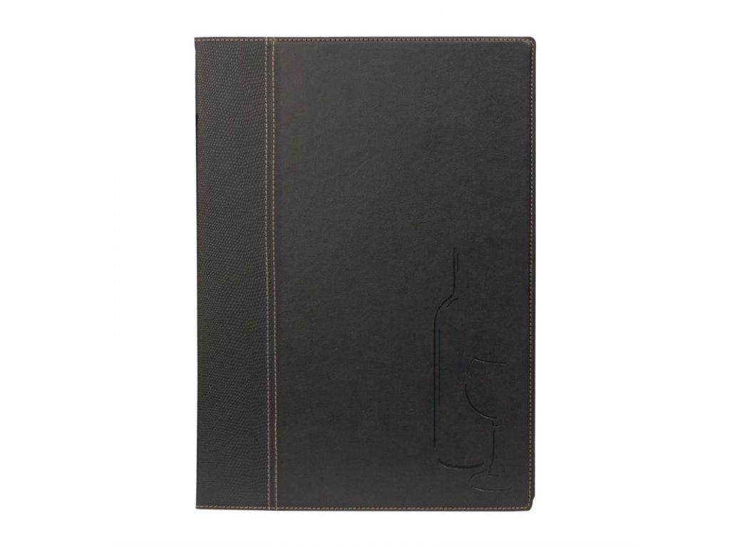 51982 securit moderni desky na vinny list a4 cerne
