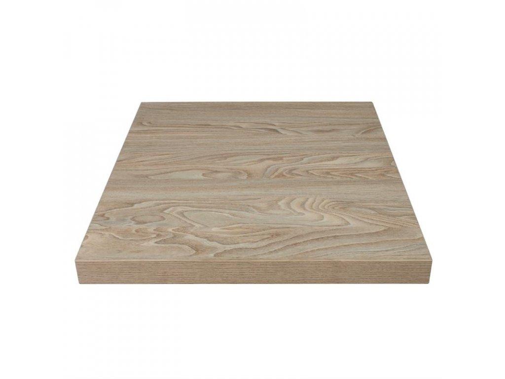 52726 bolero stolova deska ctvercova v dekoru starobyleho dreva s prirodni povrchovou upravou 600mm