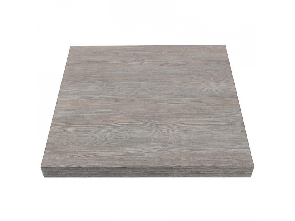 52732 bolero stolova deska ctvercova drevo vintage 600mm