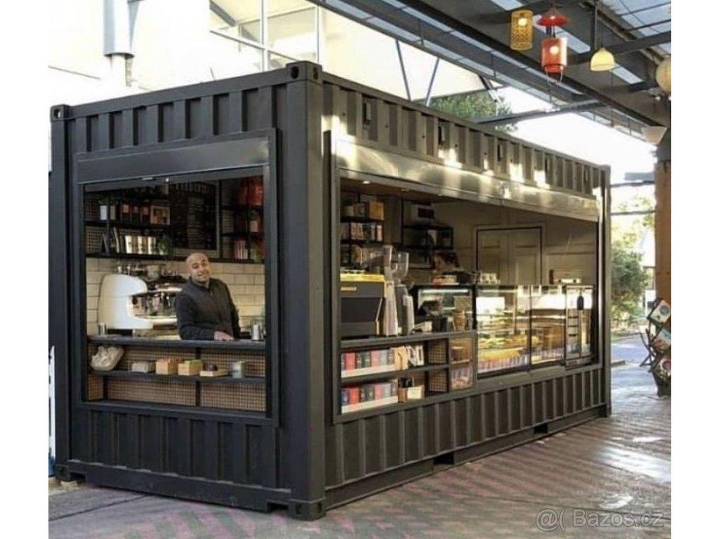 obcerstveni kontejner bistro restaurace kavarna 2