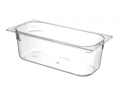 100713 nadoba na zmrzlinu polykarbonat transparent 5 l 360x250x h 80 mm