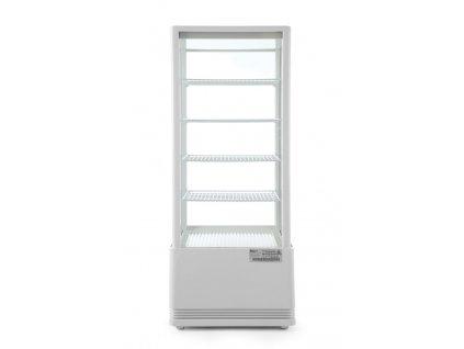 100761 4 chladici vitrina 98l cerna 230v 210w 452x406x h 1116 mm