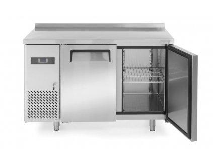 100980 mrazici pult dvoudverovy kitchen line 220l kitchen line 230v 550w 22 17 c 1200x600x h 850 mm