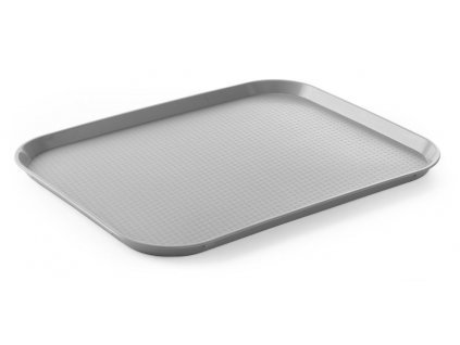 101016 fast food podnos velky grey 350x450x h 20 mm