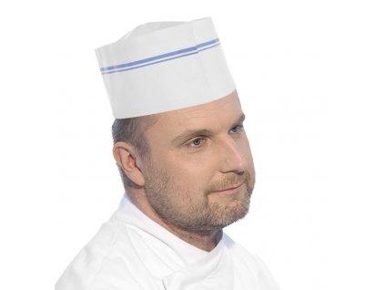 101271 kucharska cepice papirova 100 ks white 190x h 95 mm