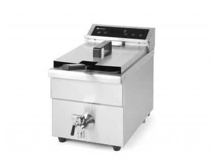 103416 indukcni friteza kitchen line 8 l 230v 3500w 290x485x h 406 mm