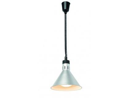 103584 vyskove nastavitelna ohrivaci lampa konicka copper 230v 250w 275x h 250 mm
