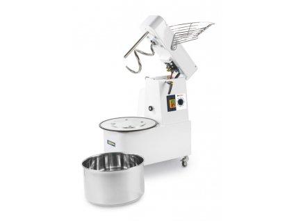 103791 spiralovy mixer s odnimatelnou misou 10 l 35 kg h 230v 370w 385x670x h 675 mm