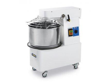 103812 spiralovy mixer s odnimatelnou misou 22 l 56 kg h 400v 750w 390x670x h 735 mm
