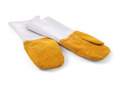 104028 zaruvzdorne rukavice kozene l 460 mm