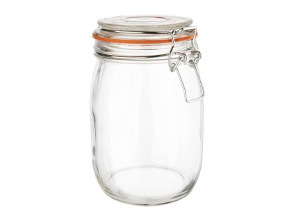 48925 vogue zavarovaci sklenice s klip vikem 1l