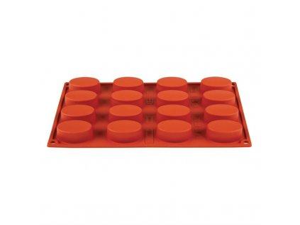 49075 16 ovalnych silikonovych forem formaflex