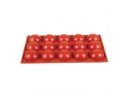 49096 15 silikonovych pulkulovych forem formaflex