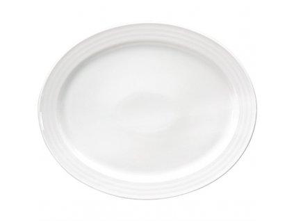 52912 intenzzo ovalny podnos white 34 x 28cm