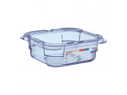53005 araven gn gastronadoba na skladovani potravin 1 6 modra 65mm z abs plastu