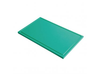 53410 gastro m krajeci prkenko s drazkou z hdpe gn1 1 zelene 15mm