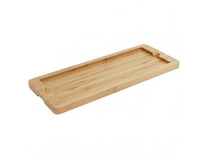 54367 olympia dreveny tac na bridlicovy podnos 330 x 130mm